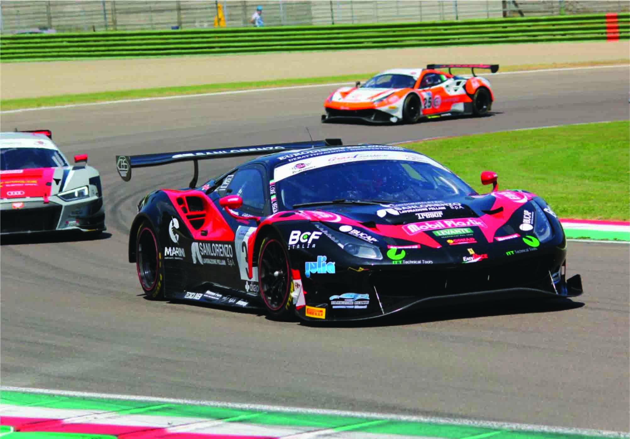 Third Place At Imola For The Easyrace Ferrari Julia Utensili